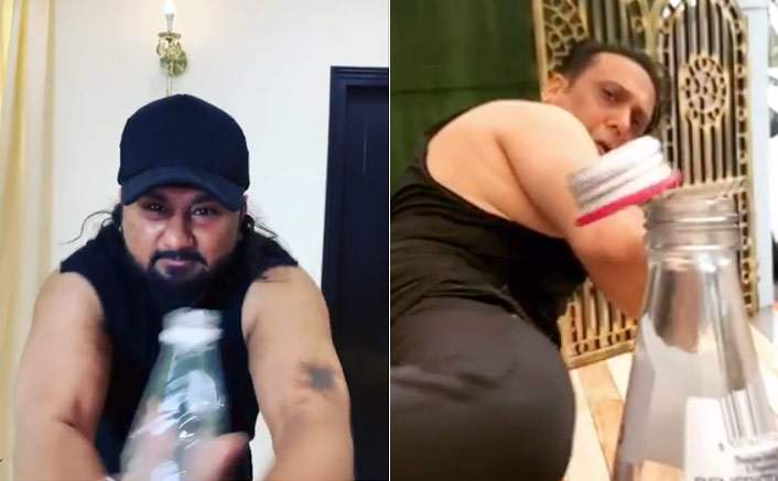 #BottleCapChallenge: Govinda & Yo Yo Honey Singh Are The Latest To Perform And You Can't Ignore Them