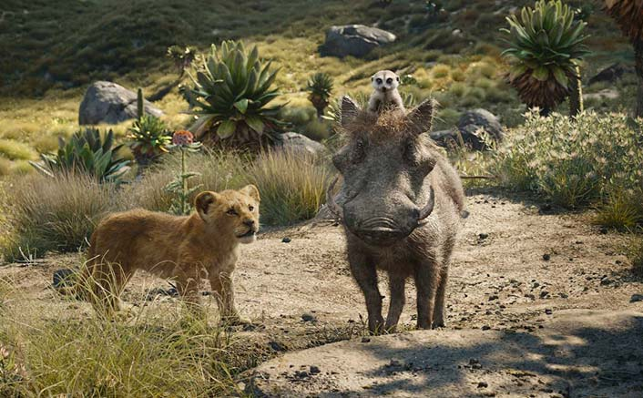 Box Office - The Lion King is quite good on Monday