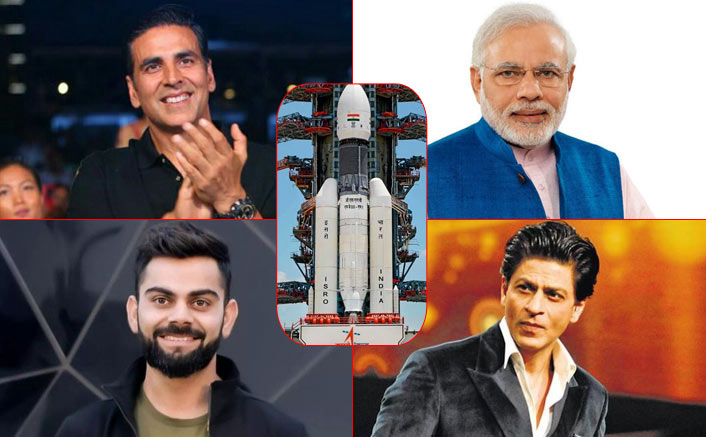 Chandrayaan 2: PM Narendra Modi, Shah Rukh Khan & Others Congratulate Team ISRO For The Remarkable Feat!