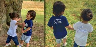 Cousins Taimur, Inaya's day out in park