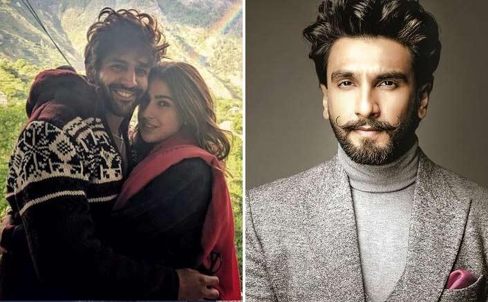 'Cupid' Ranveer Singh Gives A Reminder To Love Aaj Kal 2 Pair Sara Ali Khan & Kartik Aaryan; It's UNMISSABLE!