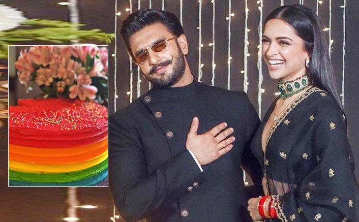 Deepika Padukone's Birthday Cake For Ranveer Singh Is As Colourful As Their Chemistry!