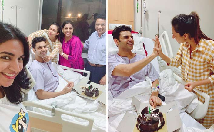 Divyanka Tripathi Celebrates Third Wedding Anniversary WIth Vivek Dahiya In The Hospital