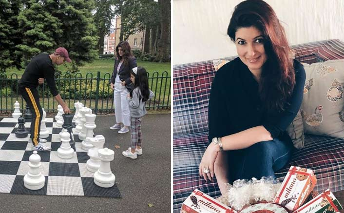 IN PICTURE: Twinkle Khanna Loses A Game Of Chess From Our Very Own 'Khatron Ke Khiladi' Akshay Kumar!