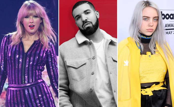 From Billie Eilish To Taylor Swift To Drake, All The Big Stars Who Got Multiple Nominations For MTV VMA 2019!
