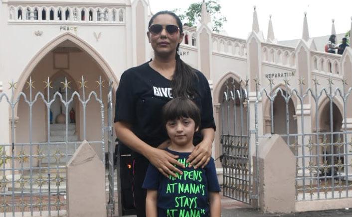 Shah Rukh Khan's Wife Gauri Khan & Son AbRam Khan Have A Church Day Together, See Pic!
