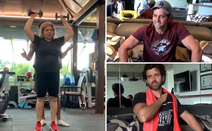 Hrithik Roshan's Mother's Dance On 'Jugraafiya' From Super 30 Is The Best Thing You'll See On The Internet Today!