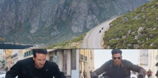 Hrithik, Tiger's bike chase on Portugal's highest peak