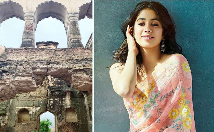 Janhvi shoots for horror flick near Agra