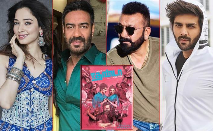 JUST IN! Ajay Devgn To Produce Hindi Remake Of Jigarthanda Starring Sanjay Dutt, Tamannaah & Kartik Aryan?