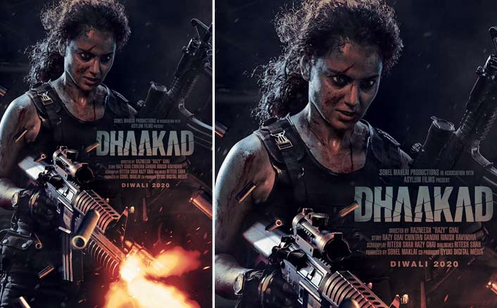 Kangana Ranaut goes all guns blazing with her action entertainer Dhaakad!