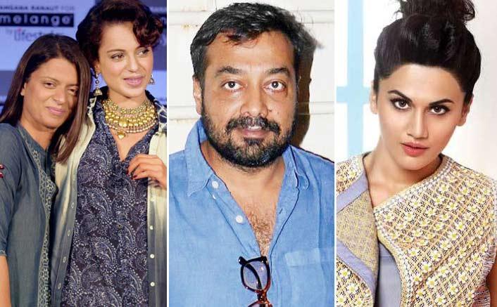 Kangana Ranaut's Sister Rangoli Hits Back At Anurag Kashsyap; Slams Taapsee Pannu Too