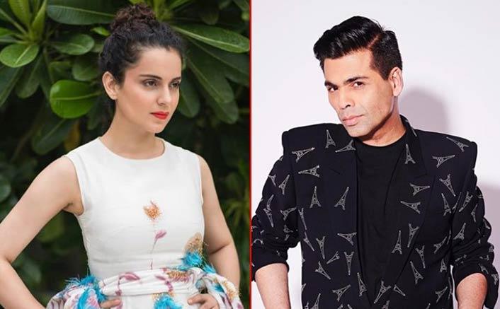 """Karan Johar Asks What Colour Underwear People Are Wearing,"" Bashes Kangana Ranaut On The Kapil Sharma Show!"