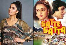 Katrina Kaif To Be The Leading Lady In Amitabh Bachchan And Hema Malini's Satte Pe Satta