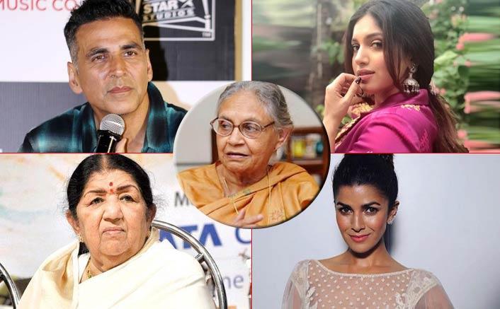 Sheila Dikshit Passes Away: Akshay Kumar, Lata Mangeshkar & Other B-Town Celebs Mourn Delhi's Ex CM's Death