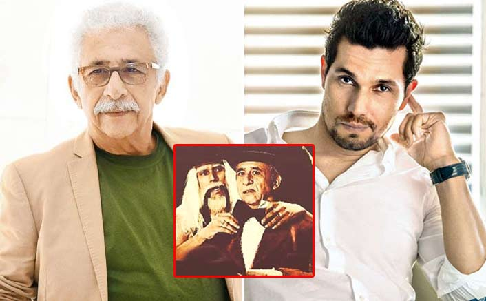 Randeep Hooda & His 'Guru' Naseeruddin Shah Look Classically Vintage In This Photo From A Samuel Beckett Play