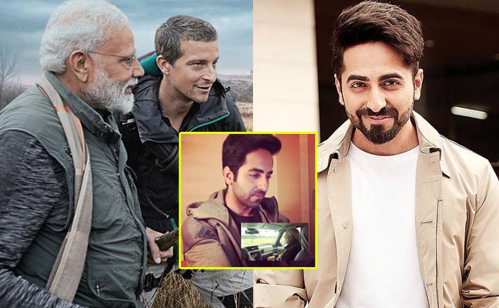 Man Vs Wild: Ayushmann Khurrana Reacts To PM Narendra Modi & Bear Grylls' Upcoming Episode's Clip, Watch Video