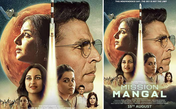 Mission Mangal New Poster: Akshay Kumar & Team Shine Bright With A 'Ray Of Hope'