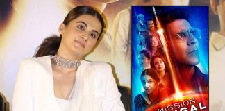 Mission Mangal: Taapsee Pannu Opens Up On Akshay Kumar Getting Most Space On The First Poster