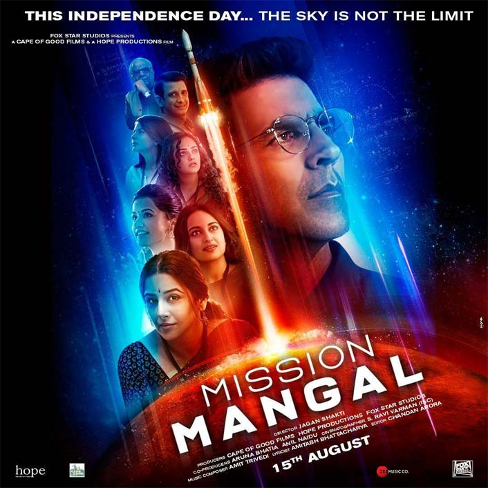 Mission Mangal's Poster On How's The Hype?: BLOCKBUSTER Or Lacklustre?