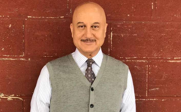My first attempt at acting was a disaster: Anupam Kher