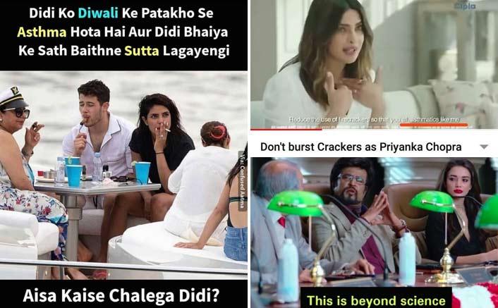 """Netizens Asks Priyanka Chopra, """"Didi, Aisa Kaisa Chalega?"""" Over Her Smoking Pictures Going Viral"""