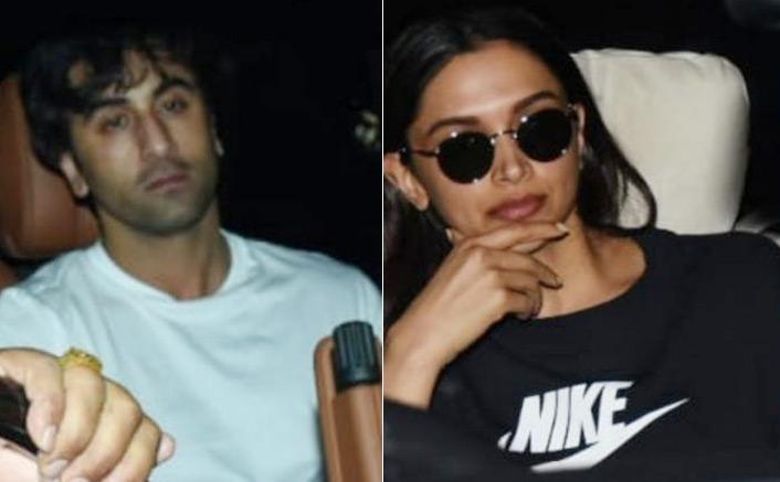 PHOTOS: Deepika Padukone & Ranbir Kapoor Spotted Leaving Luv Ranjan's Office! Movie Collab On The Cards?