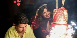Priyanka Chopra wears sindoor at birthday party
