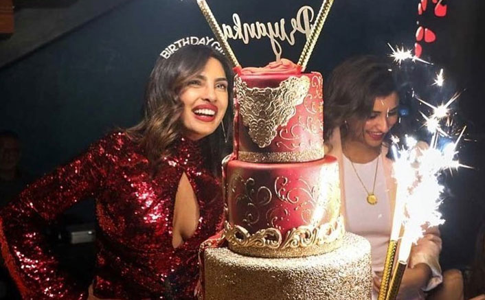 Priyanka Chopra's 37th Birthday Cake Is Worth Your Yearly Salary & We're Not Even Kidding!