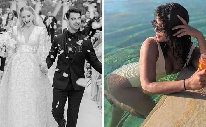 Priyanka congratulates 'happiest people' Mr, Mrs Jonas
