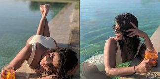 Priyanka poses for 'hubby' Nick Jonas in Tuscany