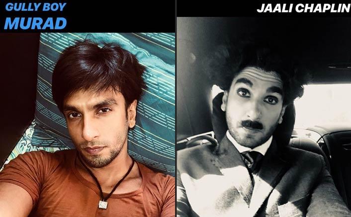 Ranveer Singh Treats His Fans With Selfies
