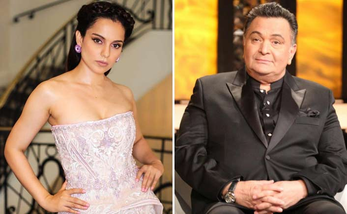 "Rishi Kapoor 'Partially' Agrees With Kangana Ranaut; Says, ""Some People Write Anything"""