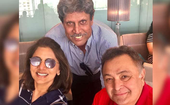 Rishi, Neetu 'super charged' after meeting Kapil Dev