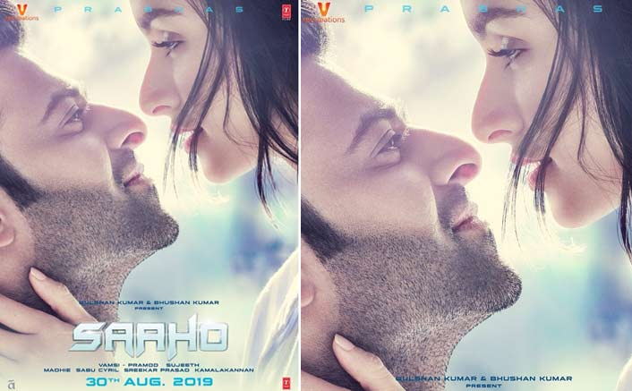 Saaho Poster With The New Release Date: Prabhas & Shraddha Kapoor Make A Dazzling Pair!