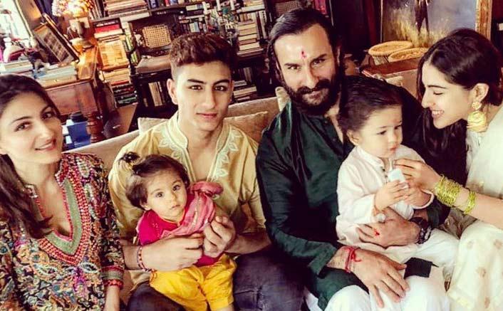 Saif Ali Khan's Son Ibrahim Ali Khan To Make His Bollywood Debut? Read On