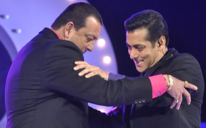 Salman Khan Shares A Throwback Picture On Sanjay Dutt's Birthday!