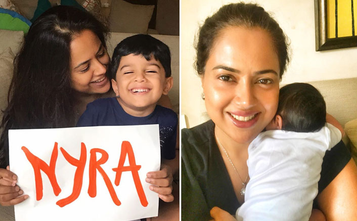Cuteness Alert! Sameera Reddy Announces Name Of Her Newborn; See Pics