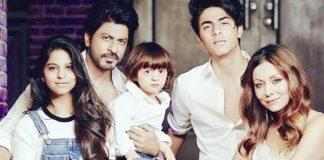 Shah Rukh Khan Celebrates With Aryan Khan Over His Debut Film