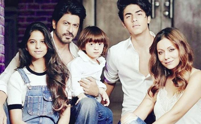 Shah Rukh Khan Celebrates With Aryan Khan Over His Debut Film
