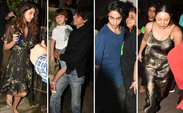 Shah Rukh Khan & Gauri Khan Have A Fam-Jam With Kids - SEE PICTURES!