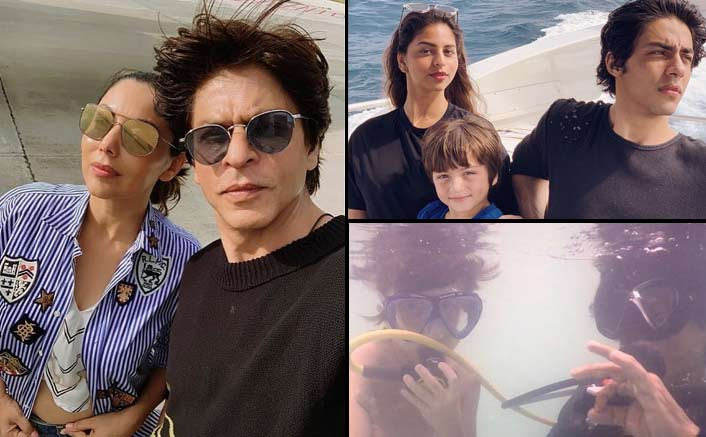 Shah Rukh Khan On A Vacay At Maldives With Family