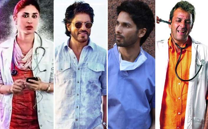 Shahid Kapoor Joins Shah Rukh Khan, Kareena Kapoor Khan & Sanjay Dutt Amongst 10 Most Popular Bollywood Doctors
