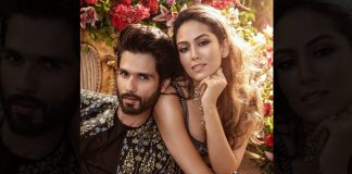 Shahid, Mira add glamour to fashion gala
