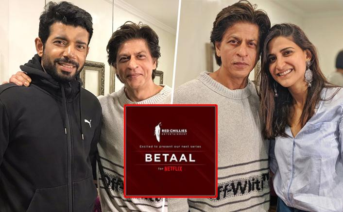 Shah Rukh Khan Pays A Surprise Visit To Betaal Actors Aahana Kumra & Viineet Kumar Singh!