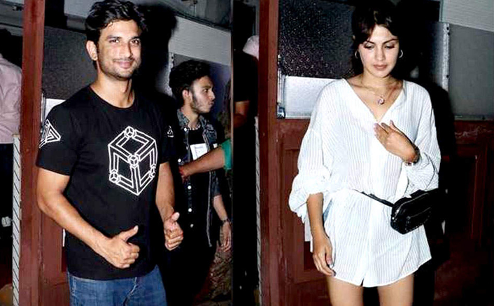 Sushant Singh Rajput And Rhea Chakraborty Go For A Date