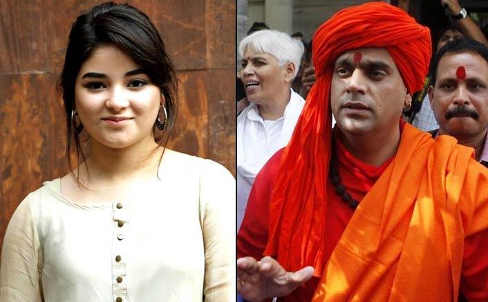 "Swami Chakrapani Sparks A New Controversy On Zaira Wasim: ""Hindu Actresses Should Take Inspiration"""