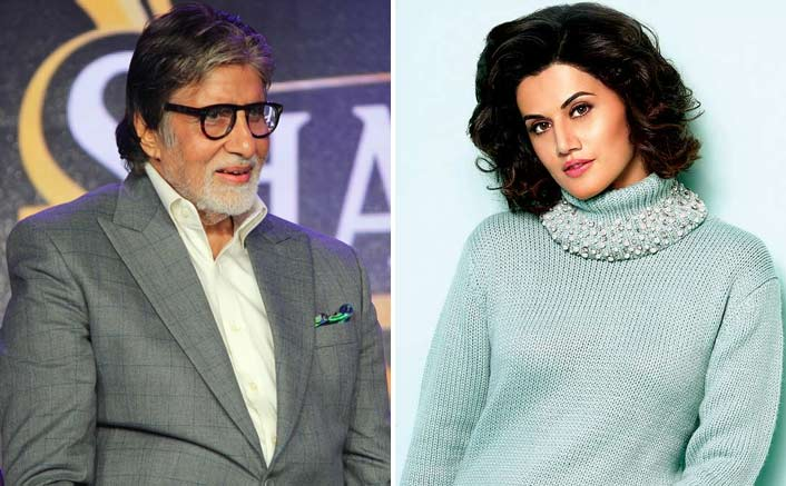 Taapsee Pannu Calls Amitabh Bachchan 'A Rockstar' - Check Out His Chilled Out Response To It!