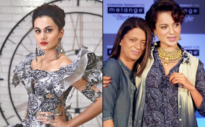 "Taapsee Pannu On Kangana Ranaut & Rangoli Chandel's Constant Criticism: ""Both Of Them Really Love Me"""