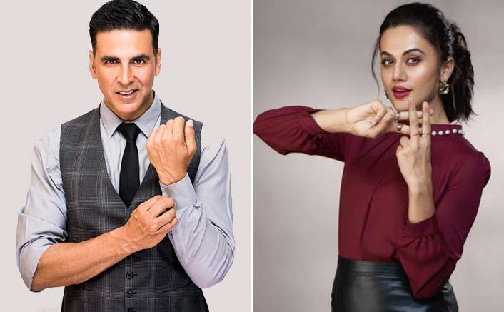 The Only Indian In Forbes List, Akshay Kumar's Hilarious Response To Taapsee Pannu's 'Sharing Is Caring' Tweet!